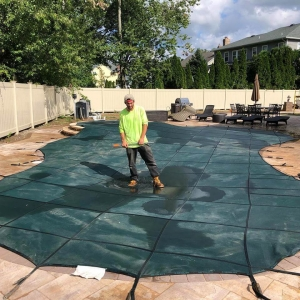 Pool Cover Installation, New Jersey, USA, Metropools