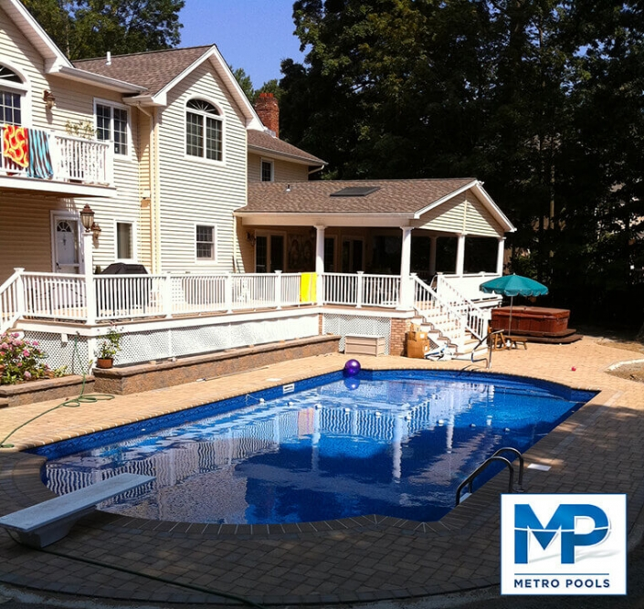 Backyard Cosy Pool, Metropools NJ