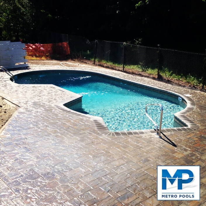 Amazing Inground Vinyl Pool, New Jersey, Metropools