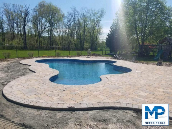 Custom Pool Design, Metropools, New Jersey