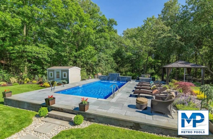 The Most Beautiful Landscape Design, Metropools, New Jersey