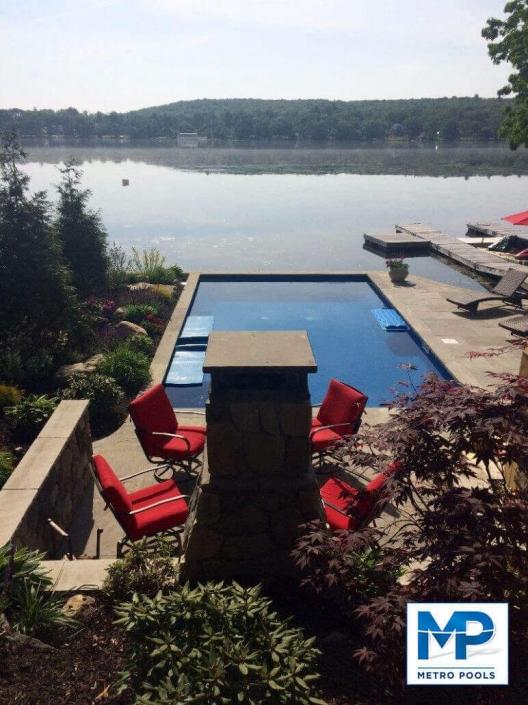 Riverside Inground Swimming Pool Design, Metropools, NJ