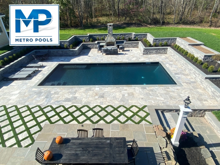 Inground Pool Installation NJ - Annandale