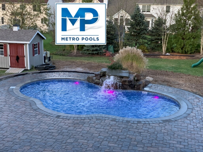 Inground Pool Installation NJ - Hanover