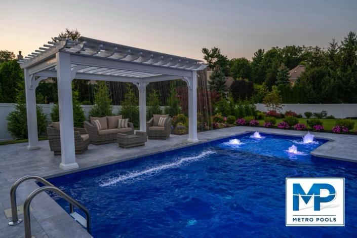 Inground pool in Fairfield NJ